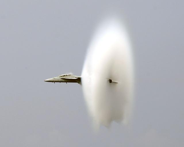 boom sonico - propagazione del suono - foto2